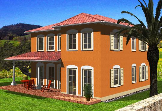 schl sselfertige mediterrane villa in attraktiver lage von mohorn unschlagbarer top preis. Black Bedroom Furniture Sets. Home Design Ideas