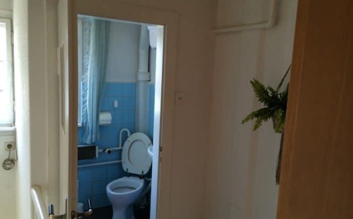 Flur und WC Dachgeschoss