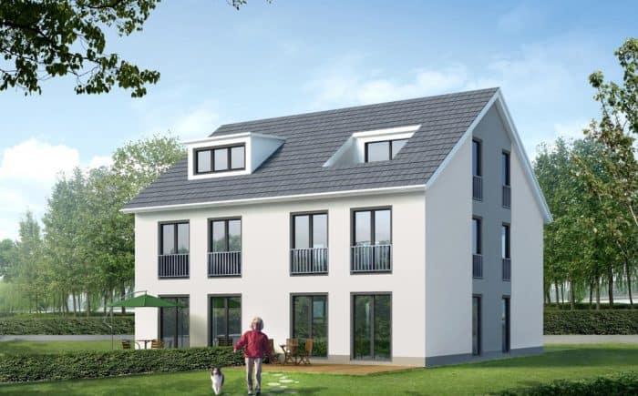 Bebauungsvorschlag Doppelhaus
