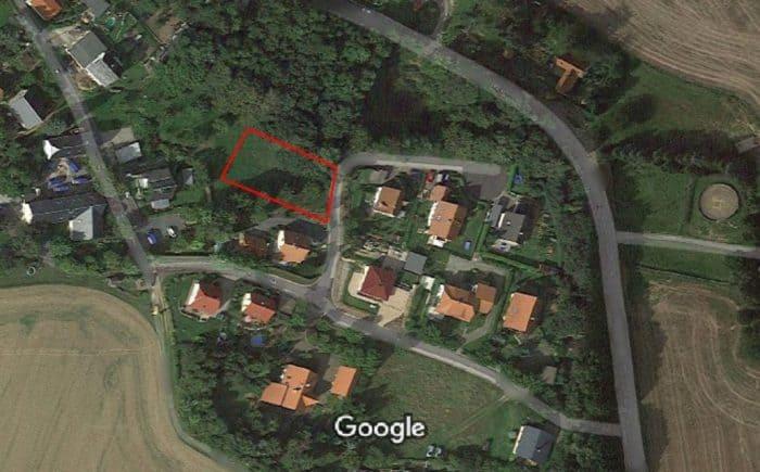 Grundstücksansicht von oben