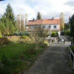 Blick zum Vorgarten
