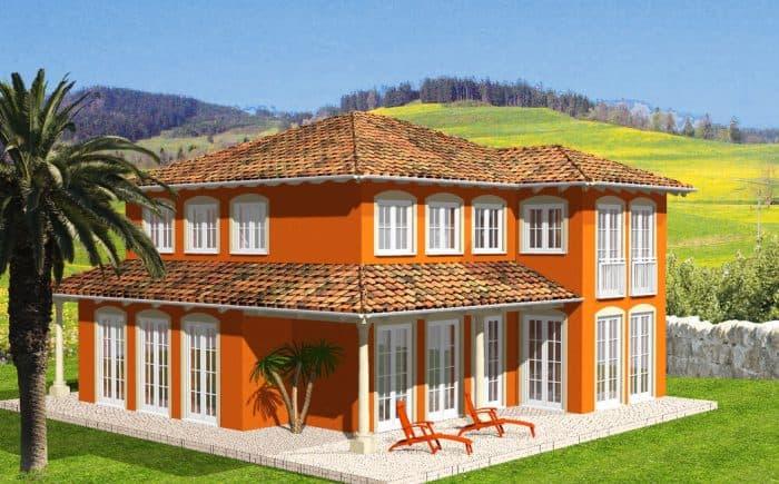 Hausansicht Terrasse