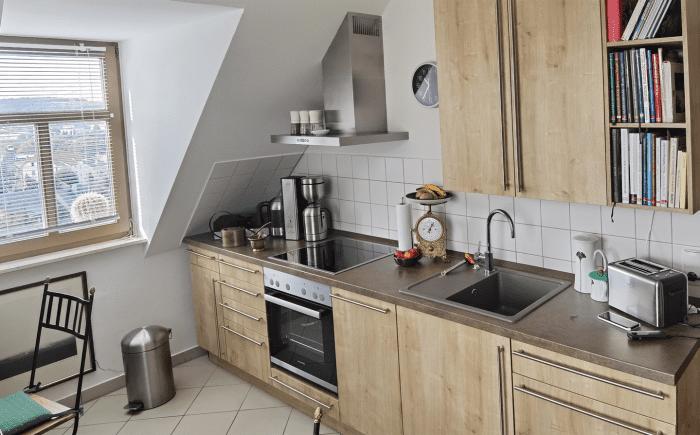 Küche lange Front