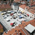 Marktplatz in Radeburg