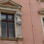 Detail Fensterlaibung