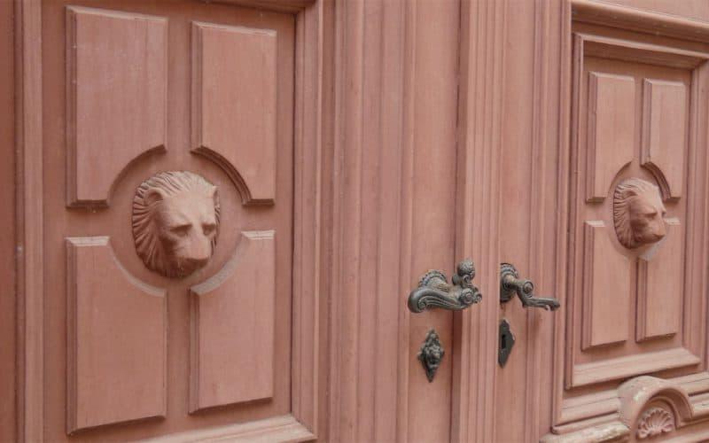 Detail Haustür