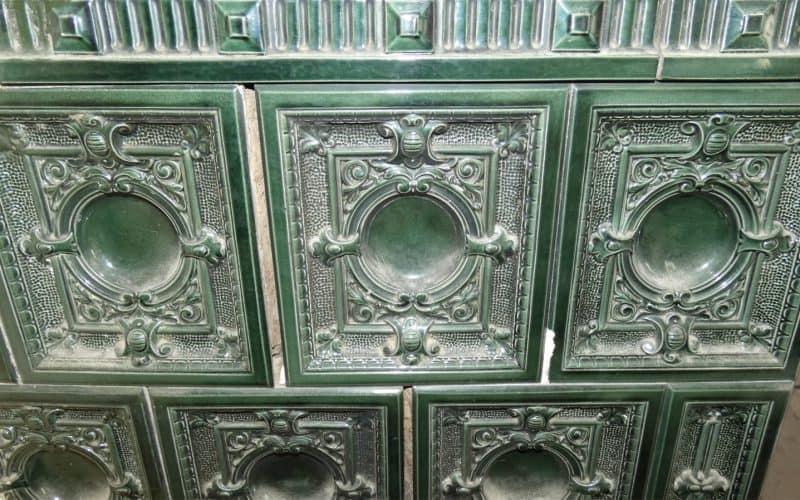 Detail Kachelofen