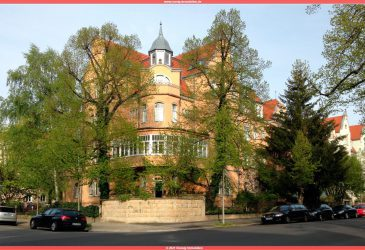 Süd Westansicht der Villa